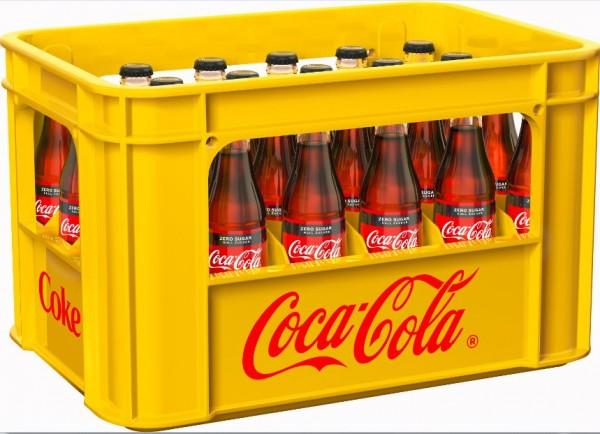 Coca Cola Zero 24x0,33 Mehrweg (D)