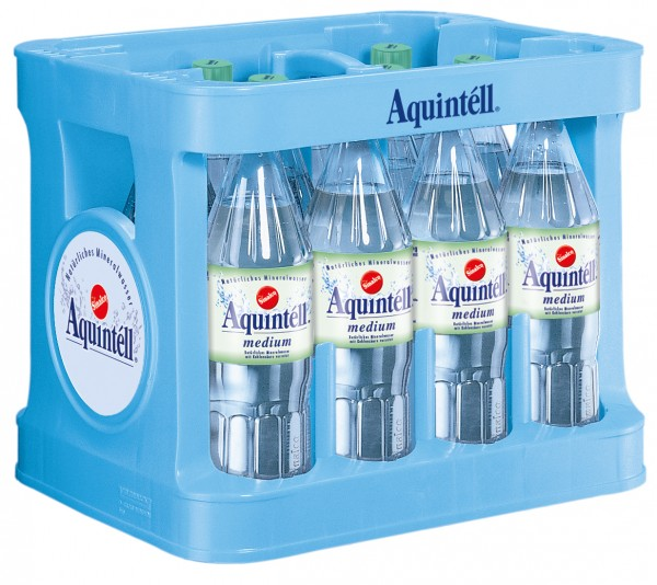 Aquintell medium 12x1,0 PET Mehrweg