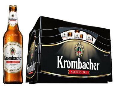 Krombacher Pils alkoholfrei 24x0,33 Mehrweg